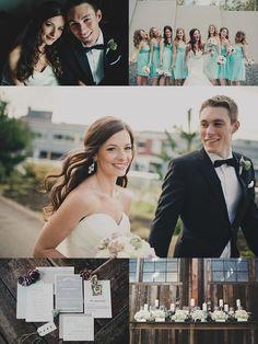 Urban-Classic Sodo Park Wedding | colors, cake, groom style