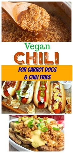 If you love carrot/veggie dogs and black bean burgers but miss topping them with chili, I think you're about to do a happy-dance! This quick vegan chili recipe from EatPlant-Based is simmered with spices and onions and can be made in minutes. It's the summer vegan recipe you can't live without!