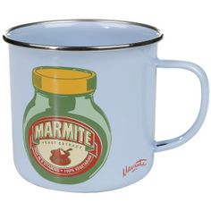 Marmite Enamel Mug