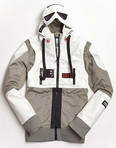 coolest star wars stuff ever   Star Wars Stormtrooper Jacket