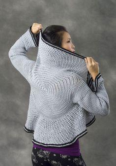 Lyon Circle Jacket - free #crochet pattern here: http://www.yarnspirations.com/naturallycaron-files/projects/lyon/lyon.pdf