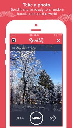 Sendish Lets You See How Far Your Photography Travels the World #travel trendhunter.com