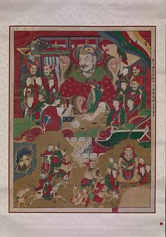 The Tenth King of Hell Joseon dynasty (1392–1910) Date: 1798  In the Buddhist…