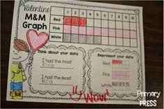 Valentine M&M graph (freebie)