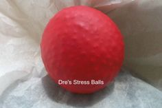 peppermint stress ball by dresstressballs on Etsy, $4.00