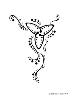 Trinity Knot I By Stargazertats On Deviantart Design 631x866 Pixel