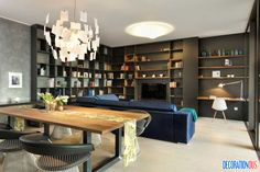 Model Apartment In Ljubljana Serves As Inspiration With Its Artistic Design - http://www.decorationous.com/interior-decoration/model-apartment-in-ljubljana-serves-as-inspiration-with-its-artistic-design.html