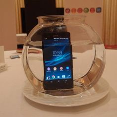 Amazing Sony Xperia Z waterproff and handsome