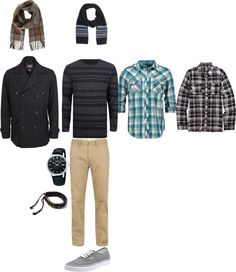 """""""Men's Casual Outfit"""" by amandhillon on Polyvore"""