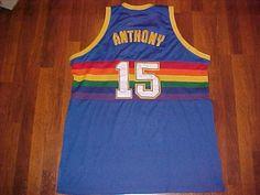 Mitchell & Ness NBA 1985/86-1992/93 Denver Nuggets Carmelo Anthony #15 Jersey 60