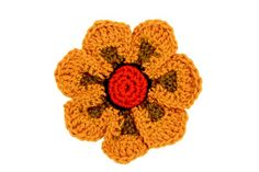 Bicolor Gem - a crochet design from my new book. Love this one.