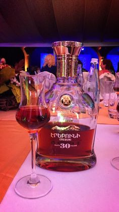 """.30-Year-old brandy """"Erebuni"""" - the quintessence of the centuries-old heritage of Armenia, the gifts of our fertile land, tasty and pure crystal water, the bright sun, and of course the air impregnated with generosity."""