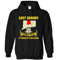 East Granby It's Where My Story Begins T Shirts, Hoodies. Get it here ==► https://www.sunfrog.com/No-Category/East-Granby--Its-where-my-story-begins-7259-Black-Hoodie.html?41382 $38.99