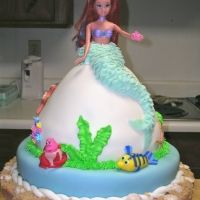 I use to have Doll Birthday cakes when I was a little girl! : )  My Cake on CakeCentral.com
