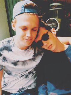Caspar Lee and Troye Sivan :) Two of my favorite youtubers!!!
