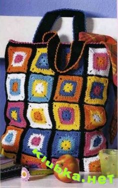 Granny bag with diagram