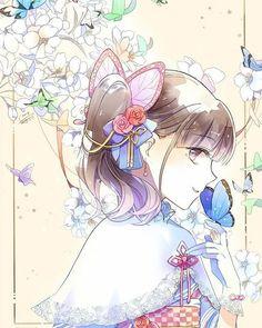 Kimetsu no Yaiba Demon Slayer, Slayer Anime, Anime Angel, Anime Demon, All Anime, Manga Anime, Butterflies In My Stomach, Cute Anime Couples, Anime Art Girl