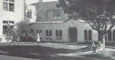 UO campus Art Building in 1933.  From the 1934 Oregana (University of Oregon yearbook).  www.CampusAttic.com