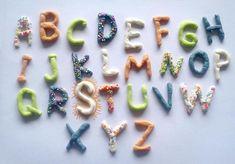 alphabet pate a sel