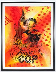 Future Cop - Red by ASVP, $650