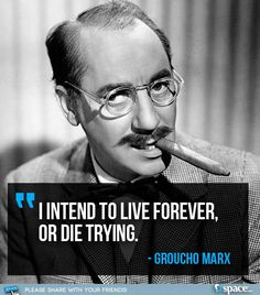 The incomparable Groucho Marx!
