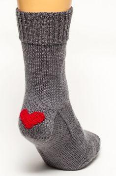 Heart Clog Socks