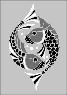 art deco stencil | Stencils from our Art Deco stencil range