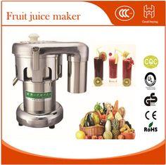 Restaurant stainless steel commercial friut apple pear orange juicer juice maker