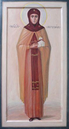 St Angelina of Serbia / Saint A, Orthodox Icons, Narnia, Catholic, Mosaic, Aurora Sleeping Beauty, Fictional Characters, Inspiration, Collection