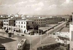 Roma Sparita - Tufello, angolo Via delle Vigne Nuove/Via delle Isole Curzolane. In basso a destra si può notare lo storico Cinema Aureo.