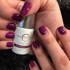 Fabulosity with a dash of irresistibility and a great big dollop of attitude. –Miss Piggy Image provided by Independent GelMoment Distributor Crystal Sawicki GelMoment colour used: Gel Polish Colors, Gel Nail Polish, Nail Colors, Gel Nails, Acrylic Nails, Manicures, Purple Manicure, Mani Pedi, Short Nails