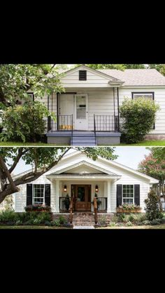 Trendy Exterior Paint Colora For House Ranch Brick Fixer Upper 27 Ideas Home Exterior Makeover, Exterior Remodel, Exterior Paint, Exterior Design, Residence Architecture, Renovation Facade, Small House Renovation, House Renovations, Before After Home