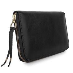 PASAPORTE in Black Monte Carlo Leather