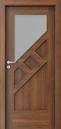 Drzwi wewnętrzne Por - September 21 2018 at House Main Door Design, Wooden Main Door Design, Bedroom Door Design, Door Gate Design, Door Design Interior, Internal Wooden Doors, Wood Doors, Entrance Doors, The Doors