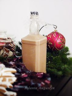 Abc Mojej Kuchni : Likier kukułkowy - Idealny Irish Cream, Smoothie Drinks, Gift Wrapping, Jar, Gifts, Food, Gift Wrapping Paper, Presents, Wrapping Gifts