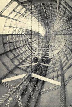 "Interior of The German Naval Airship L30 World War 1 6x4"" Reprint Photo a"