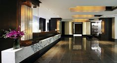 The lobby's sophisticated styling - The Dupont Circle Hotel, Washington, D.C.