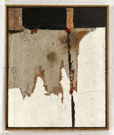 Alberto Burri, Contemporary Abstract Art, Abstract Painters, Environment Concept Art, Italian Artist, Museum Of Modern Art, Cool Artwork, Amazing Artwork, Abstract Expressionism