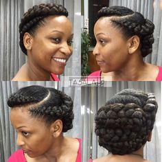 50 Updo Hairstyles for Black Women Ranging from Elegant to Eccentric ...