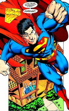 Superman by Dan Jurgens