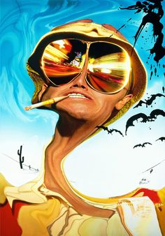 Textless Movie Posters - Fear and Loathing in Las Vegas
