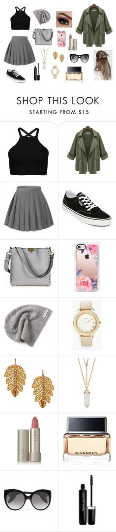 """""""Untitled #41"""" by lili-meeksauriol ❤ liked on Polyvore featuring Chicnova Fashion, Vans, Valentino, Casetify, Converse, Chico's, Marika, Ilia, Givenchy and Alexander McQueen"""