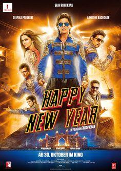 """""""Happy New Year"""" von Farah Khan. Mehr unter: http://www.kino-zeit.de/filme/trailer/happy-new-year-2014"""