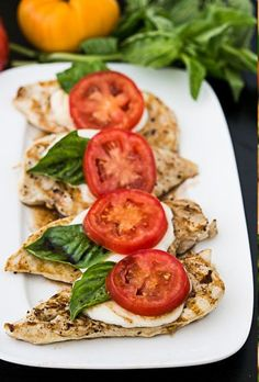 Balsamic Caprese Chicken - Easy Party Food Ideas - Photos