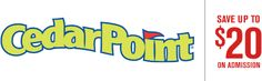 Save $20 off two tickets to Cedar Point with Discover Ohio To Go!