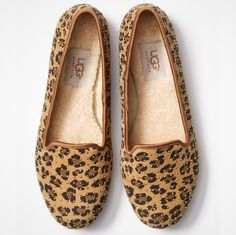 Fancy - Alloway Studded Leopard Flats by UGG Australia