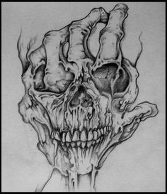 Bilderesultat for rose hand tattoo designs Dark Art Drawings, Tattoo Design Drawings, Tattoo Sketches, Pencil Drawings, Tattoo Designs, Skull Drawings, Crazy Drawings, Tatto Skull, Skull Tattoo Design