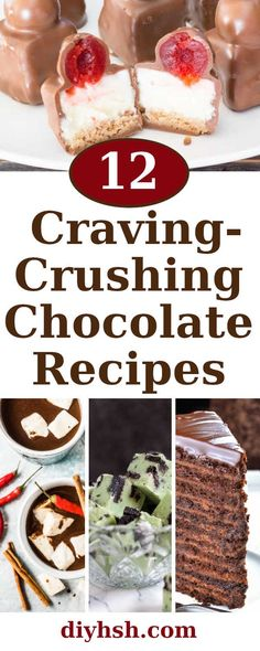12 Craving-Crushing Chocolate Recipes | DIY Home Sweet Home