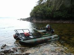 Zego Sport Boat. Looks like a nice fishing platform. Small Fishing Boats, Small Boats, Fly Fishing Boats, Fishing Cart, Cool Boats, Fishing Knots, Kayak Fishing, Pontoon Boat, Boat Dock