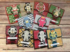 Klompen Stampers (Stampin' Up! Demonstrator Jackie Bolhuis): Gift Card Holders Galore + Video!